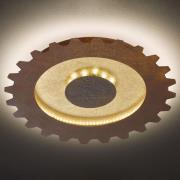 LED-kattovalaisin Leif, hammaspyörä, Ø 50 cm
