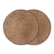 Gradient lautanen 29 cm 2-pakkaus Taupe (ruskea)