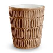 Stripes muki 30 cl Cinnamon
