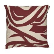 Jokuraita tyynynpäällinen 50x50 cm Beige-Ruskea