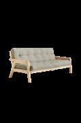 Sohva Grab, puunvärinen